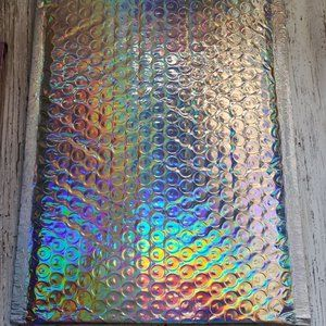 Bubble Mailers - Holographic - 50 ct